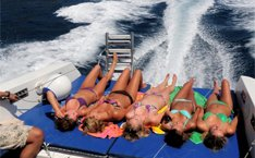 Speed boat hire Costa Brava -Stag weekend