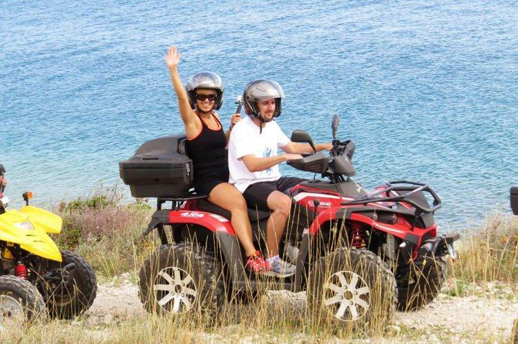 Ruta guiada por Ibiza en quad