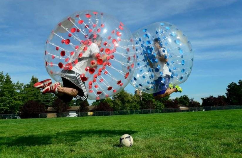 Bubble Futbol Barcelona