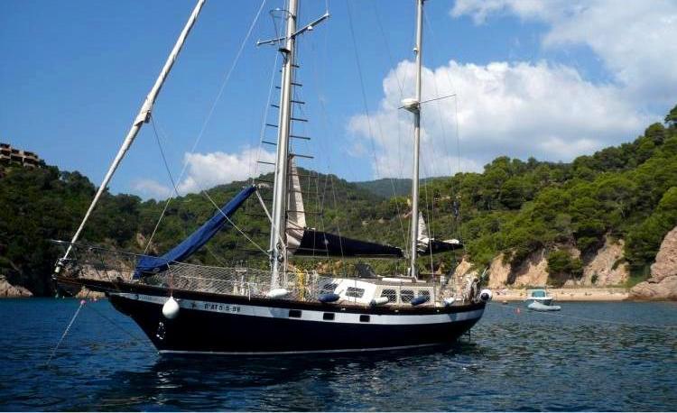 Salida en velero Costa Brava - Girona