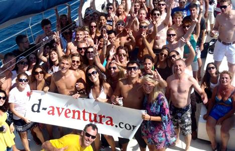 Pack festes amb Catamarà + DJ  a Tossa de Mar - Girona