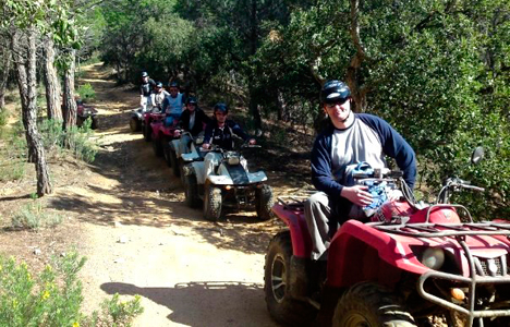 Mountain Quad trek