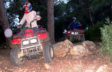 Super quads in Tossa de mar