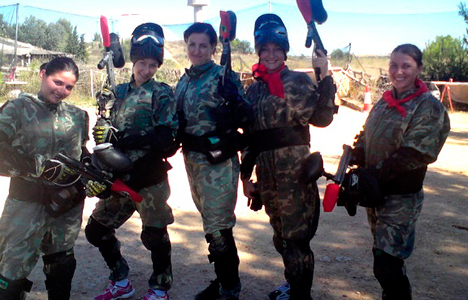 Paintball in Tossa de mar Gerona