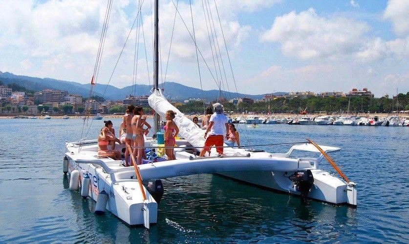 Exclusive catamaran in Platja d'aro