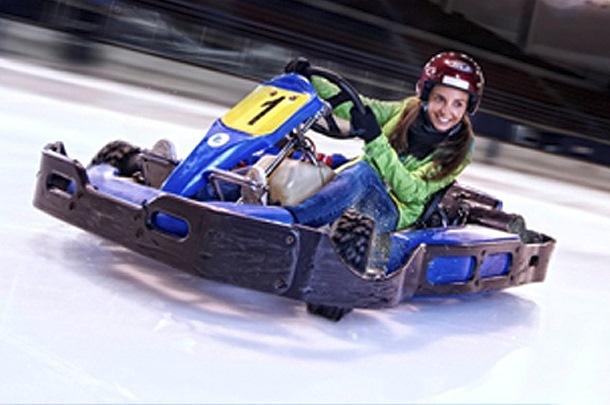Karting sobre hielo - Andorra