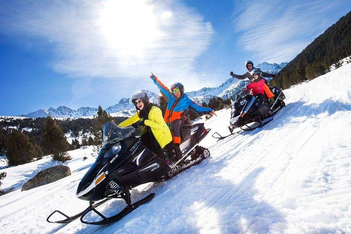 Ruta en moto de nieve - Andorra