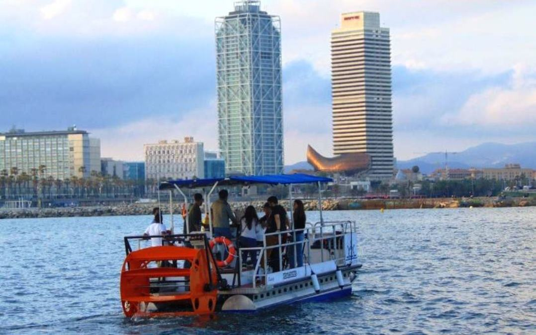 Pedal Cruise Tour en Barcelona
