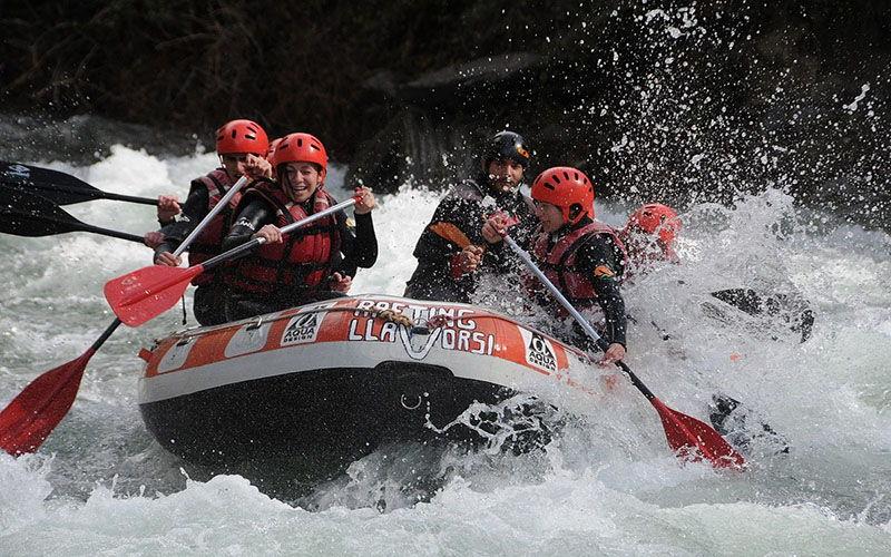 Rafting Llavorsí - Lleida