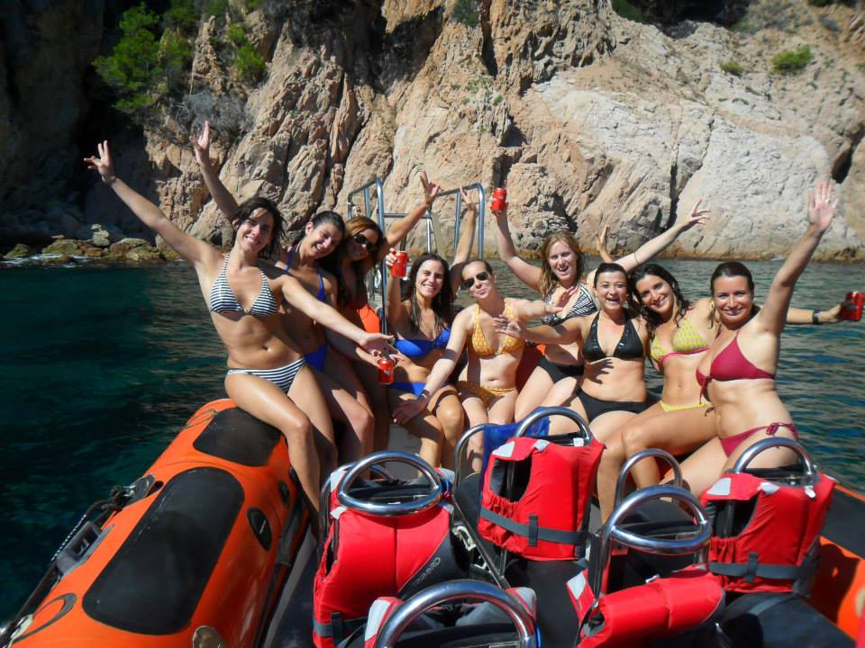 Speed boat à Tossa de mar - splash-2014.jpg