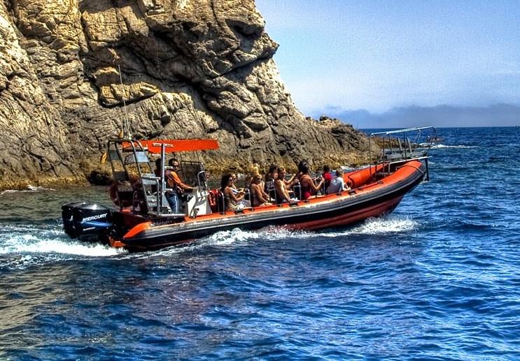 Speed boat à Tossa de mar