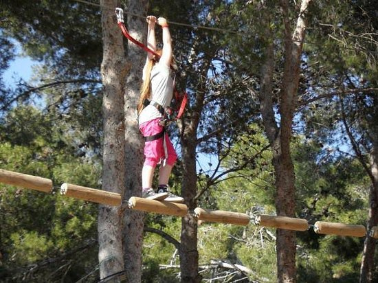 High wire package Lloret de mar - Girona - tirolinas-salou-2.jpg