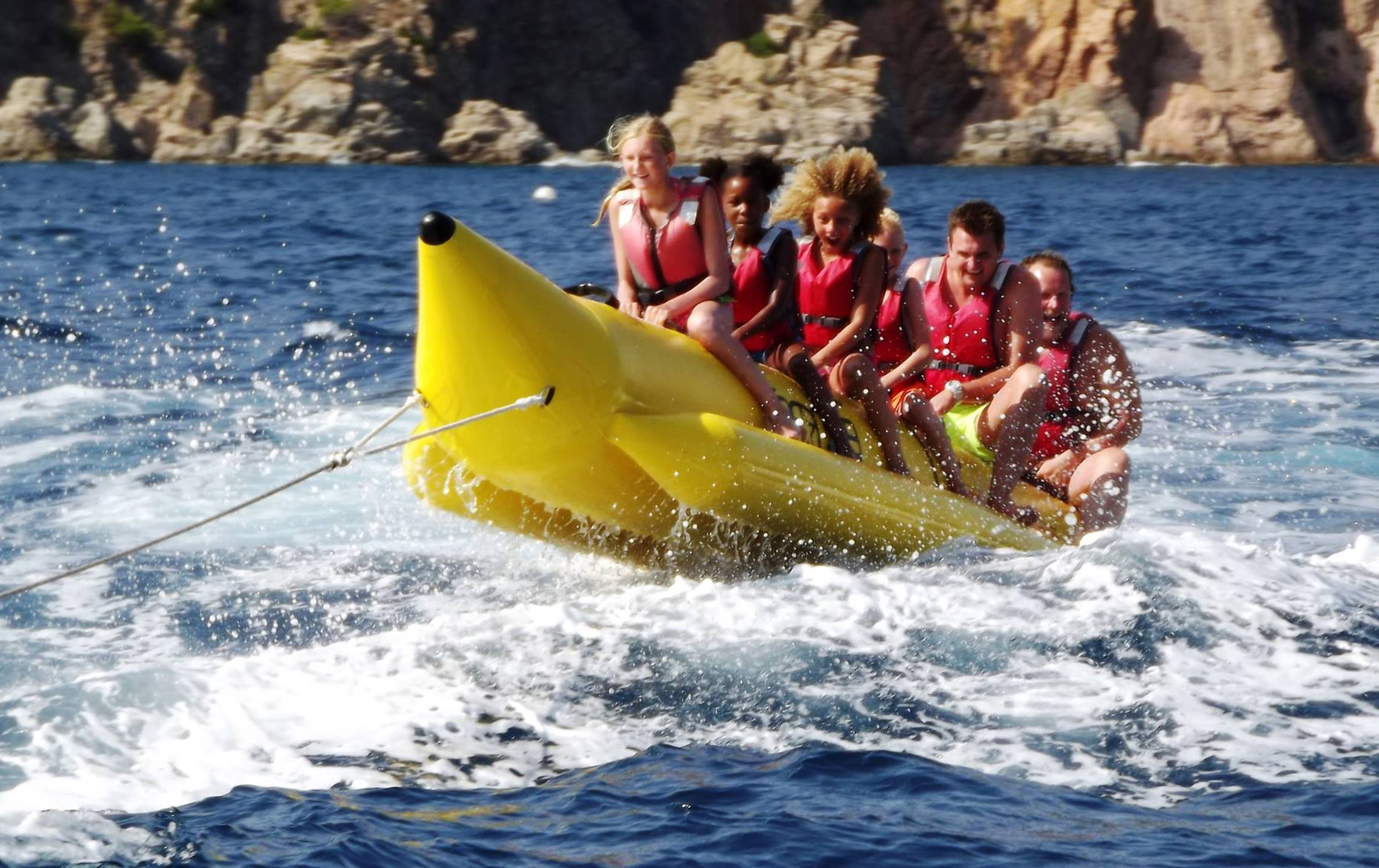 Banana Boat in Tossa de Mar