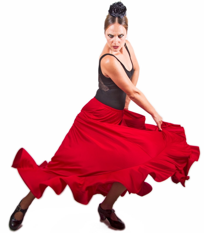 Flamenco dance class in Tossa de mar