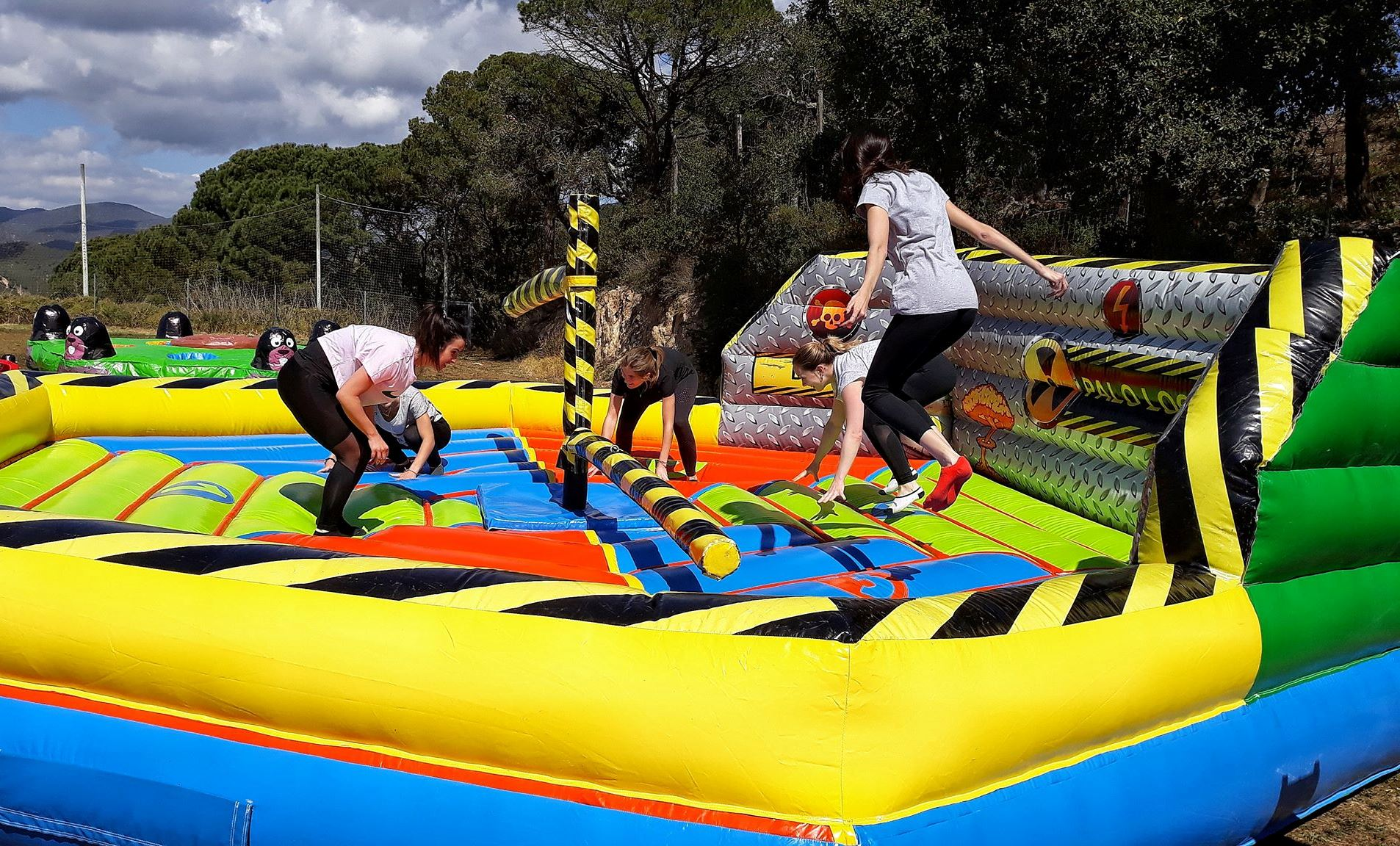 EVG TOTAL WIPEOUT Gérone Costa Brava