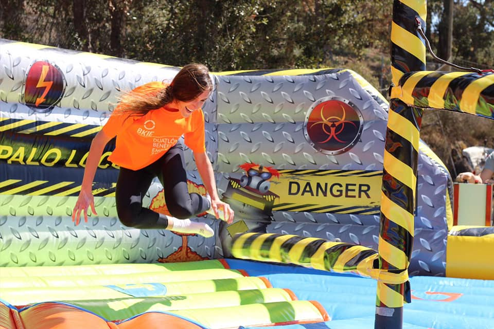 It's a knockout/I'm a celeb trials WEEKEND Tossa de mar - Girona