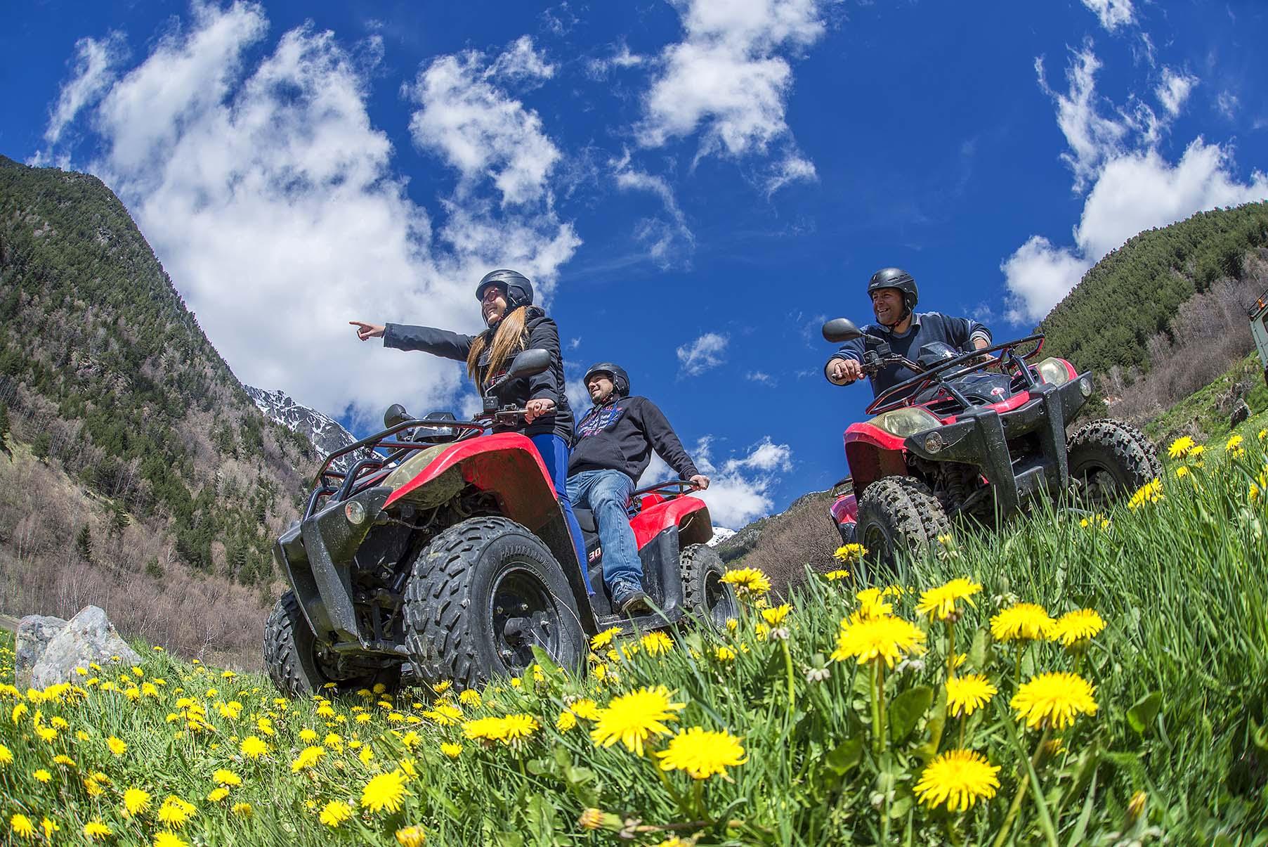 Rutas en quad - Andorra