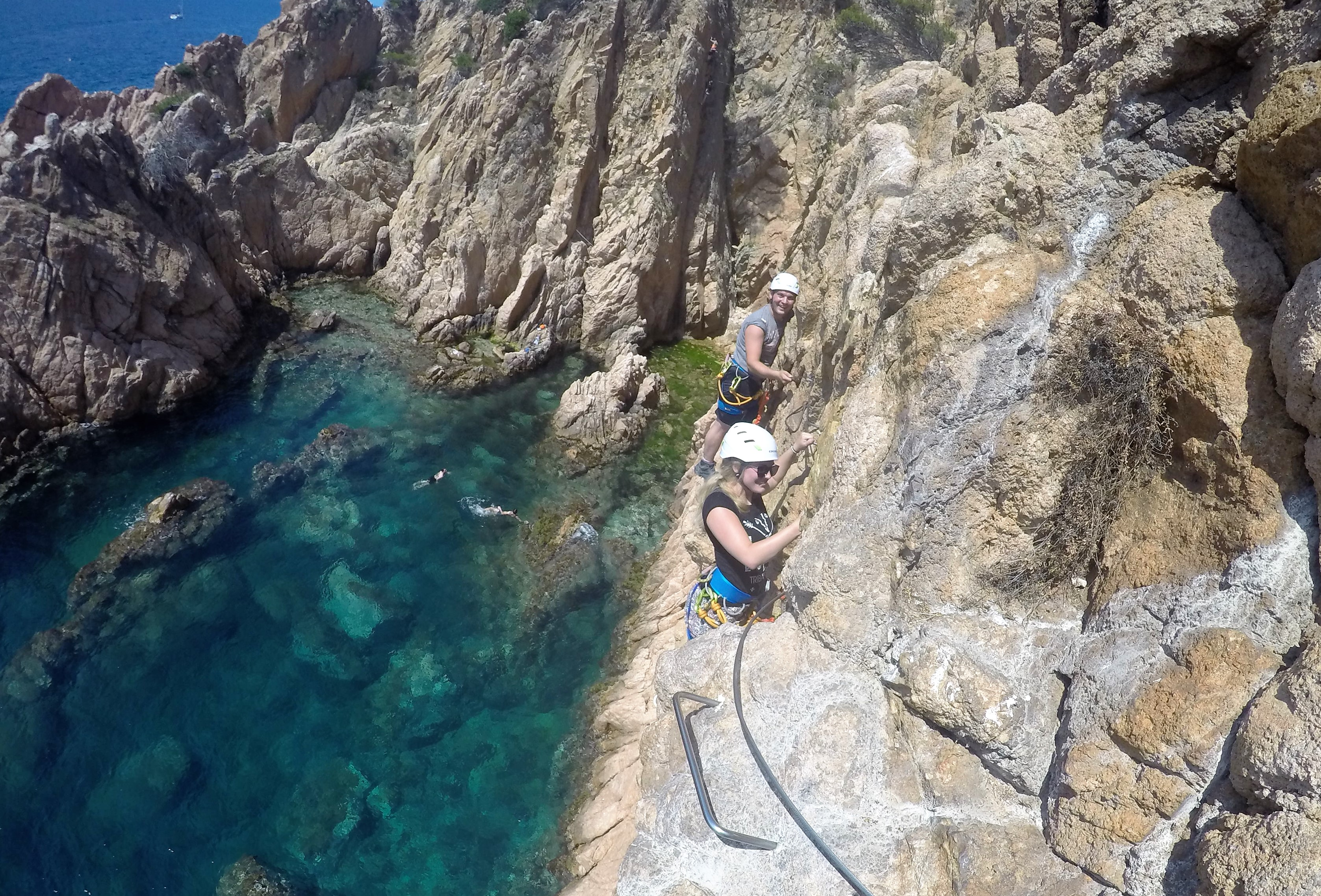 Via Ferrata - Tossa de Mar
